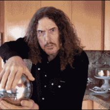 Weird Al's floating orb magic trick