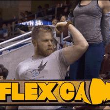 Girl vs. guy on the Flex Cam