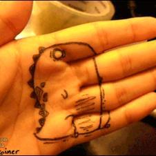 Hand-drawing-rawr