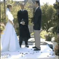 망친 결혼식