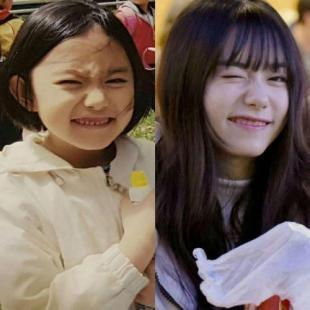 ioi 김소혜 충격적인 어릴때 모습
