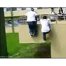 Fat-kid-falls-folds