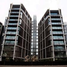 영국 런던의 흔한 아파트 가격