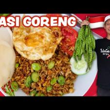 Indonesian Street Food 🇮🇩  NASI GORENG RECIPE - Fried Rice!! | Street Food at Home Ep. 3