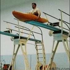 Kayak-dive-belly-flop
