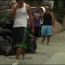Garbage-trash-camo-dance