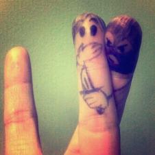 손가락 인질범