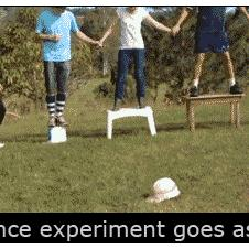 Electric-fence-experiment