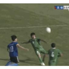 중국 프로축구 레전드 골