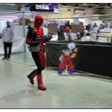 Deadpool vs. Kylo Ren