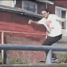 Skateboarder-double-fail