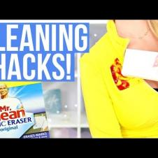 20+ Surprising Cleaning Hacks using the Magic Eraser!
