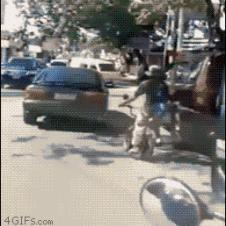 외발자전거