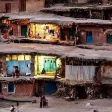 이란의 빈민 주거지역