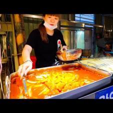 Korean Street Food Tour ft. KPOP + Korean BBQ!! SPICY Korea Street Food in Taiwan!