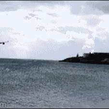 여객기 착륙