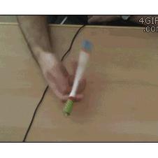 Spinning pen tricks