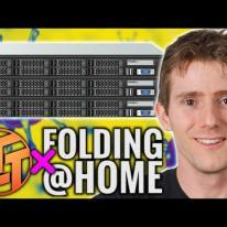 Building a 100TB Folding@Home Server!