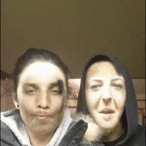 Face swapping while vaping