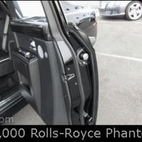Luxury car door umbrella