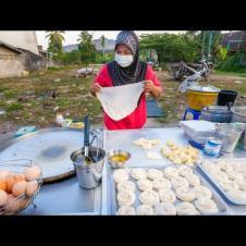 Street Food EGG ROTI!! Market Eating Tour in Southeast Asia!