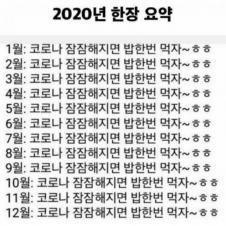 2020년 요약
