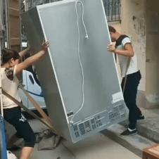 냉장고 옮기는 방법