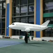 대형 모형비행기