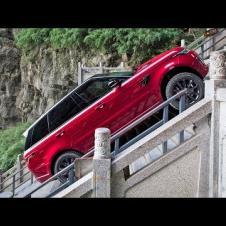 Range Rover Sport EXTREME Climb 999 Steps | Dragon Challenge | Complete Video