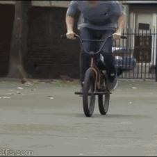 자전거 트릭