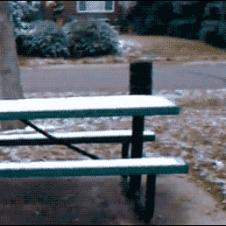 Parkour-table-bench-slide