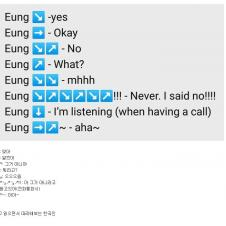 외국인들이 정리한 한국인의 '응' 사용법