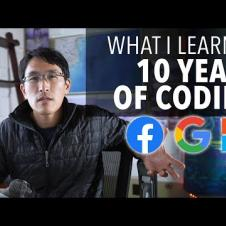 What I learned from 10 years of coding (as a software engineer)