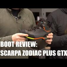 Boot Review: Scarpa Zodiac Plus GTX