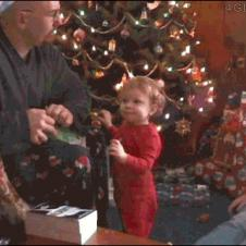 Christmas-present-baby-punch