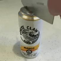맥주캔을 반으로 가르기