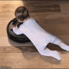 Baby-rides-roomba