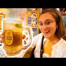 Japanese Street Food - AUTHENTIC Japan Food Tour in Taipei! BEST IZAKAYA Okonomiyaki + HOT SPRING!