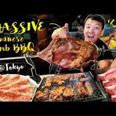 ULTIMATE SPICY MUTTON BBQ & A5 Wagyu Beef Sukiyaki HOTPOT in Tokyo Japan