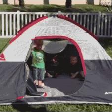 위험한 텐트