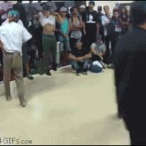 One legged backflips