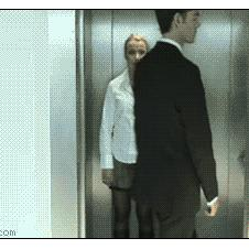 Elevator seduction
