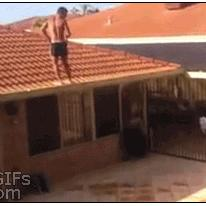 Roof backflip
