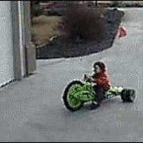 Big wheel drift