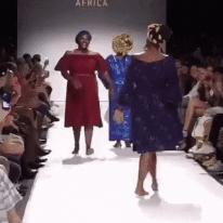흥겨운 패션쇼