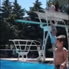 Fat-pool-diving-board-fail