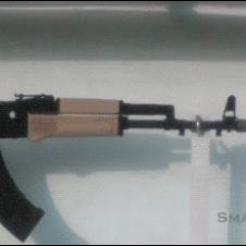 AK47 fired underwater.