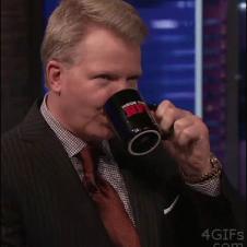 Phil-Simms-drinks-tea-bag