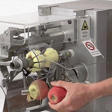 사과 깎는 기계