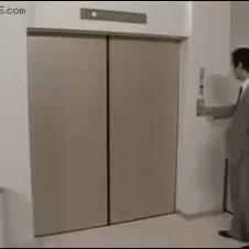 Elevator-trolling-stairs